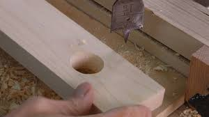 how to cut holes in wood woodworking for mere mortals