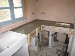 plan de travail cuisine beton plan de travail cuisine l aventure chapelle rénovation d une