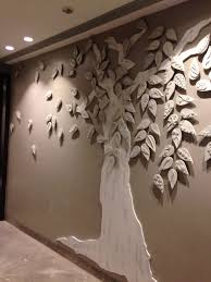 the tree mural in ceramic wood rekha goyal the tree wall mural