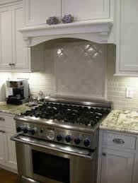 Crackle Glaze Tiles Kitchen Backsplash  Tile In White - Crackle tile backsplash