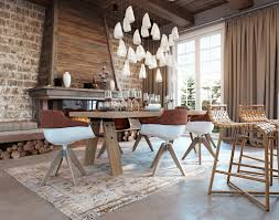 Rustic Mediterranean Kitchen Designs By Style Wooden Dining Table 2 Homes In Mediterranean