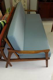 danish deluxe daybed couch c 1960s red rider