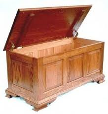 large wooden chest foter
