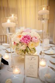 Floating Candle Centerpiece Ideas Decorated Wedding Candles 2017 Also Table Decoration Ideas With
