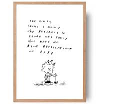 calvin and hobbes funny calvin quote hand written hand