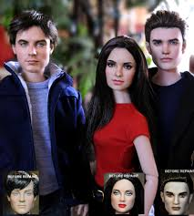 vampire diaries doll repaints by noeling deviantart com on