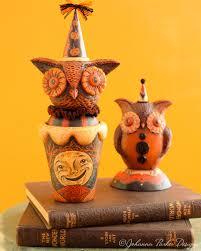 halloween owl halloween folk art u2014 johanna parker design