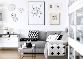 Scandinavian Livingroom Decordots Monochrome Scandinavian Living Room At Home With Kasia