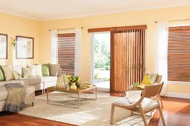 Wooden Blinds With Curtains Custom Vertical Blinds Bali Blinds And Shades