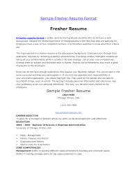 Msl Resume Sample Objective For Resume For Computer Science Engineers Free Resume