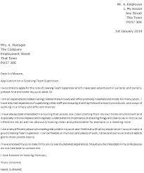 fresh cover letter for team leader position examples 67 for doc