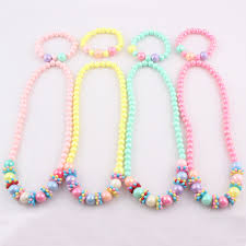 baby beads necklace images Buy lubingshine 2017 new candy color handmade jpg