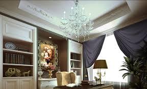 british style luxury villas study interior design download 3d house