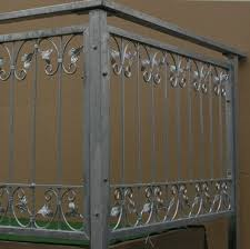 balkon gitter balkon geländer gitter monaco z120 200 zink zäune gartenzäune höhe