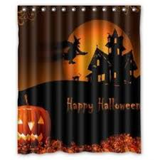halloween pumpkin shower curtains halloween halloween and