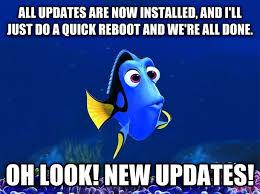 Windows Meme - windows when im installing it on a new pc this can go on for hours