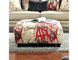 pattern fabric ottoman red fabric ottoman ottoman southwest fabric red fabric cube ottoman