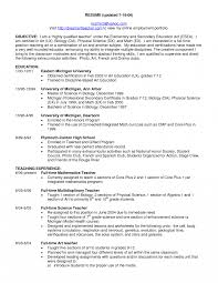 exle of teaching resume general science resume free sle exle eduers image