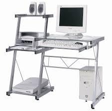 bureau metal et verre bureau informatique verre galaxy bureau informatique bureau