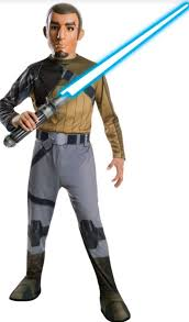 Baseball Furies Costume Halloween Rubies Star Wars Rebels Kanan Costume Child Small Halloween