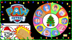 paw patrol spin the wheel game