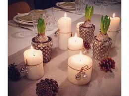 composizione di candele grande centrotavola per natale fai da te oz35 pineglen
