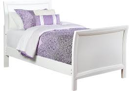 White Sleigh Bed League White 3 Pc Sleigh Bed Beds Colors