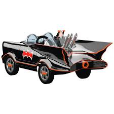 hallmark tv batmobile mini pedal car and matching pedal car ornament
