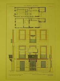 floor plans u0026 elevation e f whitney house new york ny 1909