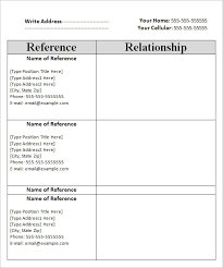 references sheet template 28 images reference list template 9