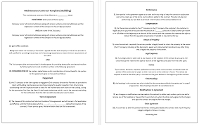 rental agreement template u2013 microsoft word templates