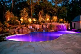 Waterfall Landscaping Ideas Bedroom Splendid Images About Pool Ideas Grotto Hot Tubs