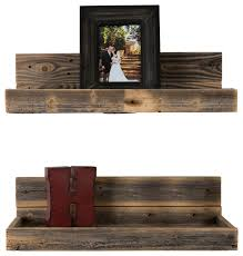 hartland shelves set of 2 farmhouse display and wall shelves