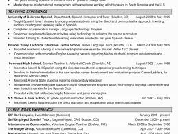 Foreign Language Teacher Resume Clerk In India Create Professional Sample Deal Sheet Template