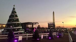2017 national christmas tree lighting 2017 national christmas tree lighting rehearsal youtube