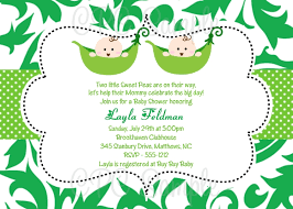 Two Peas In A Pod Centerpieces by Baby Shower Invitations For Twins Featuring Pea In The Pod Graphics