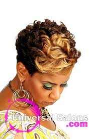 short hair styles with front flips short black hairstyles archives universal salons hairstyle and