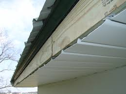 decoration aluminum soffit and fascia installation with roofing