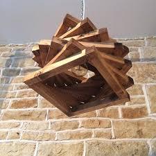 Wooden Light Fixtures Light Up Wooden Workbenches With Wacky Wood Light Fixtures