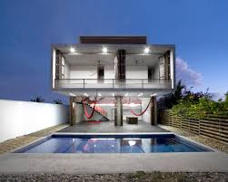 house plans with pool house home architecture tda house cadaval solã morales modern modern