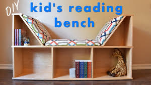 reading nook bench build a simple bench add a cushion and arrange