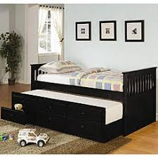 coaster brookstone daisy bookcase daybed w trundle bed