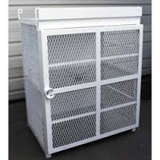 Heavy Duty Steel Cabinets Gas Cylinder Storage Cabinets At Global Industrial
