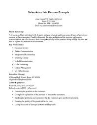 Tech Support Job Description Resume Sample Resume For Retail Sales Associate Best Misc Images On