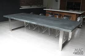 zinc table tops for sale contemporary zinc furniture zinc tables zinc top dining table