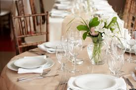 Setting Formal Dinner Table Dining Etiquette Setting A Welcome Table Huffpost