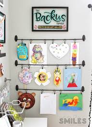 display art easy diy kids art display simple inexpensive no damage