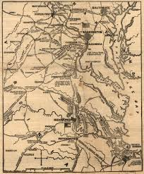 Maps Virginia by Places In Civil War History Virginia Geography Worlds Revealed