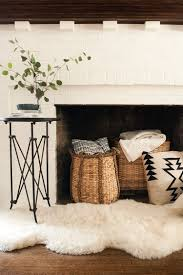 How To Decorate A Non Working Fireplace by Sheepskin Archives Room For Tuesday