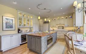 wood tops for kitchen islands custom walnut wood kitchen countertop in bethesda maryland
